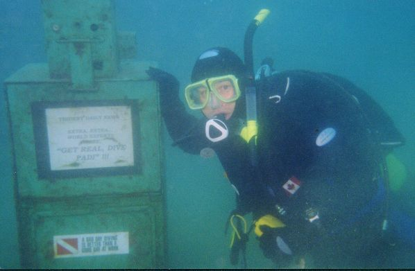 Wiarton - scuba diving on the Bruce Peninsula